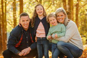 Autumn Photo of Family